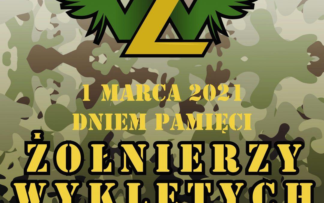 """Narodowy Dzień Pamięci """"Żołnierzy Wyklętych"""" 1 marca 2021"""