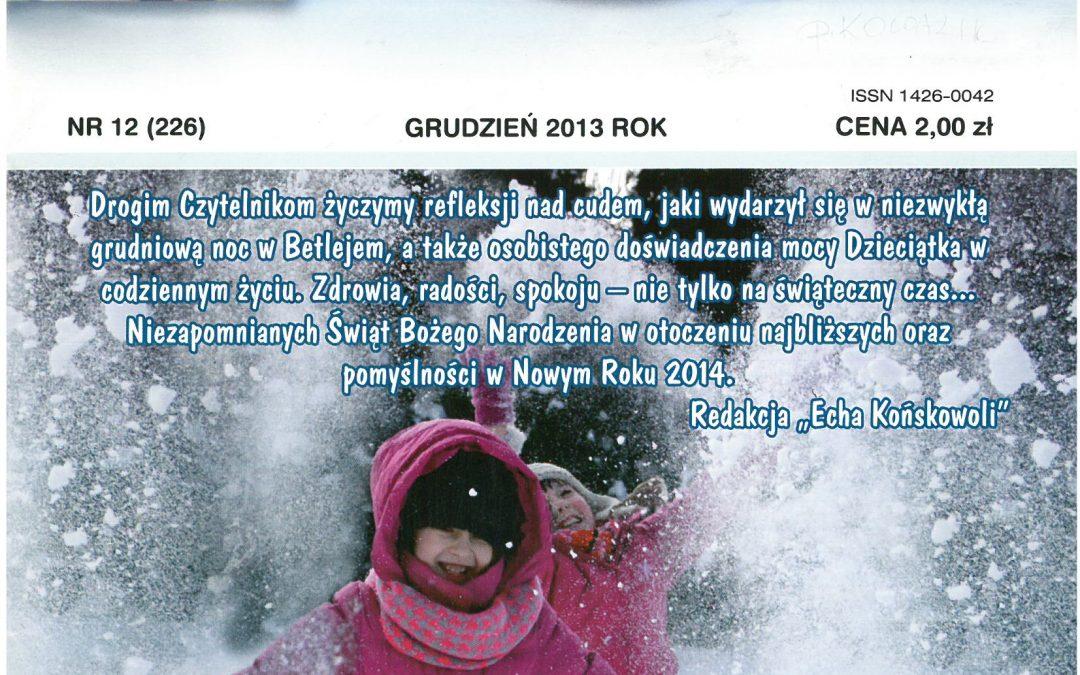 Echo Końskowoli nr 12/2013
