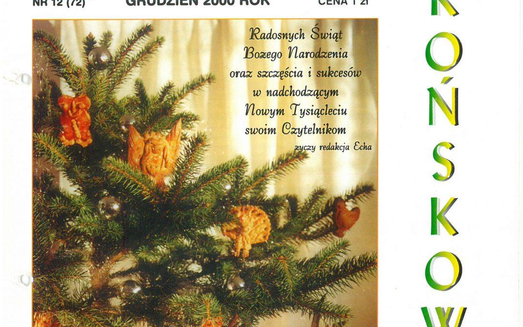 Echo Końskowoli nr 12/2000