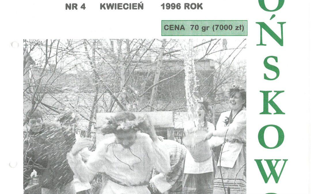 Echo Końskowoli nr 4/1996