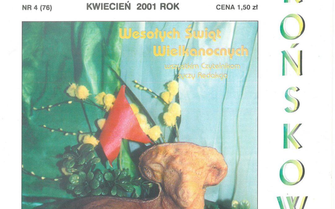 Echo Końskowoli nr 4/2001