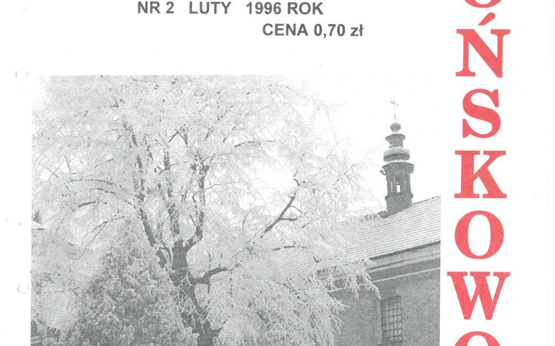 Echo Końskowoli nr 2/1996